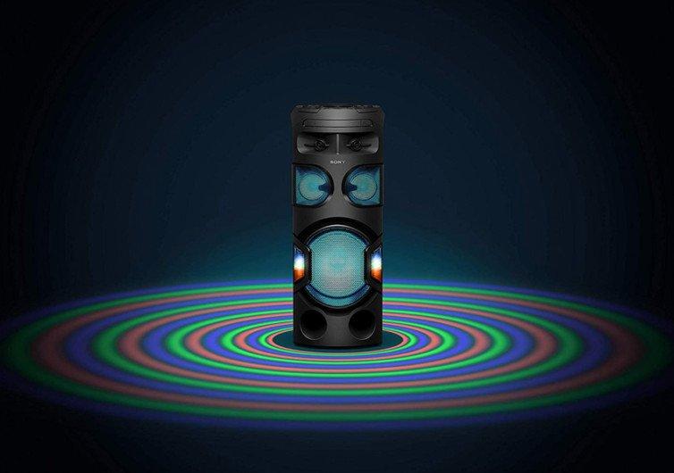 Sony MHC-V72D s'allume pour faire danser