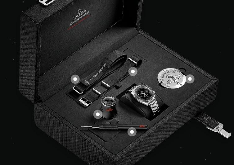 coffret collector de la montre Omega Speedmaster Moonwatch