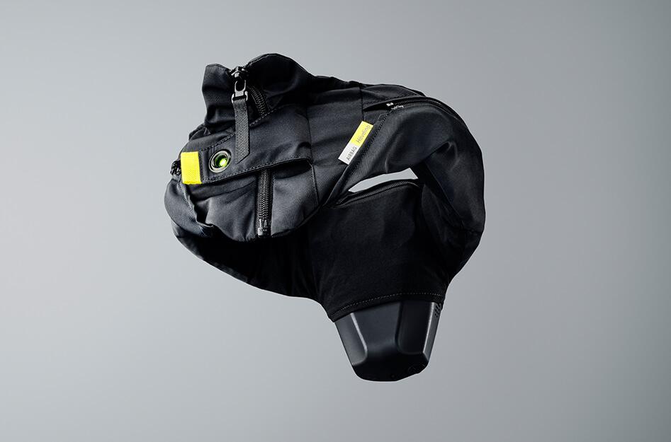 airbag vélo suedois