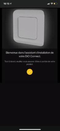 application smartphone chacon installation interrupteur