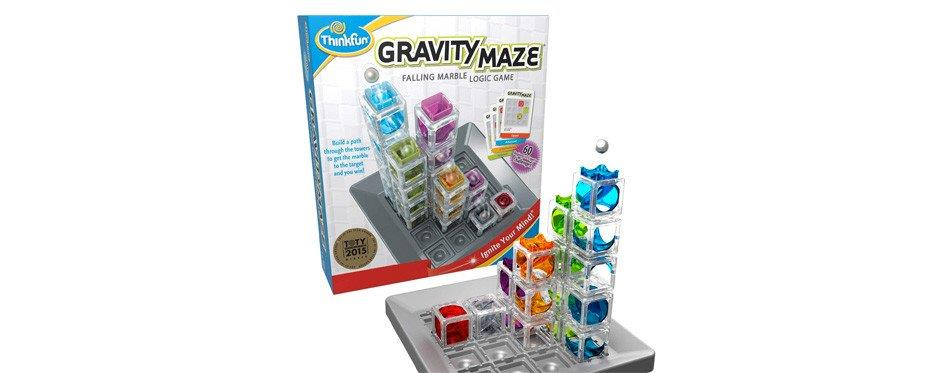 Jeu de logique ThinkFun Gravity Maze Marble Run