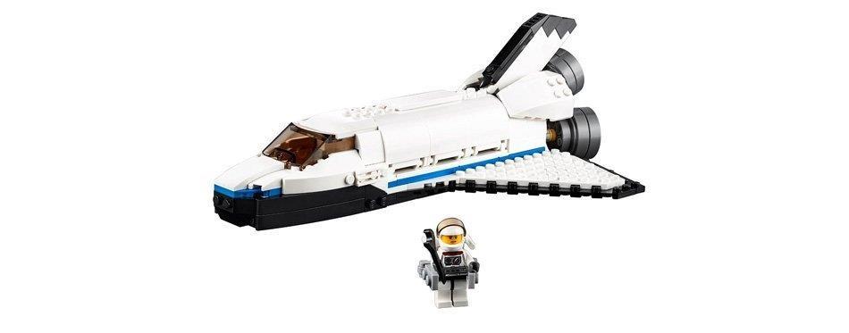 lego creator kit de construction de la navette spatiale explorer