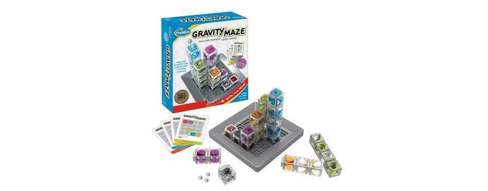 jeu de labyrinthe gravitationnel thinkfun