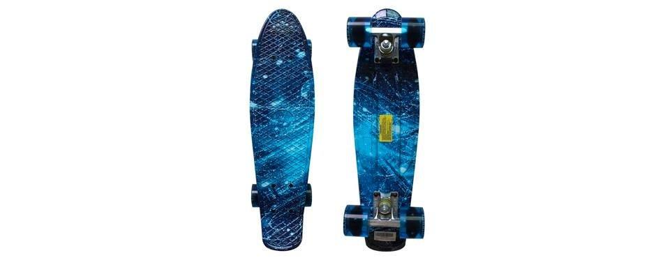 skateboard à roulettes