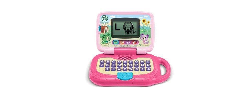 mini ordinateur rose pour enfant