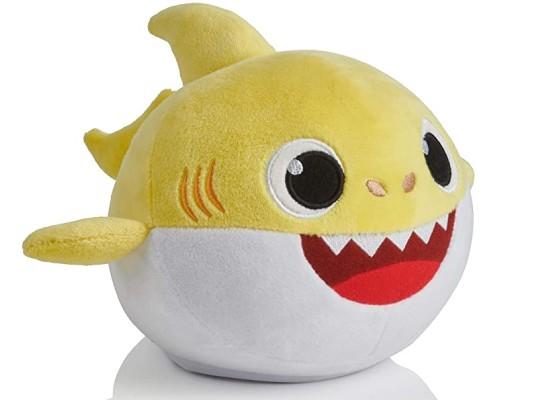peluche de requin jaune