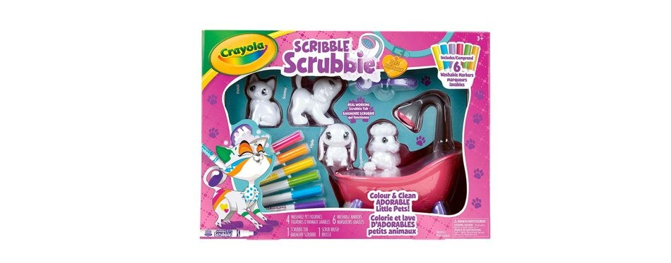 boîte de jeu scribble pour enfant