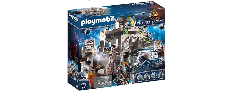 chateau playmobil gris pour enfants