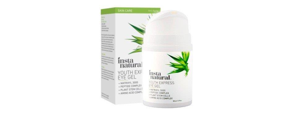 insta gel-crème naturel pour les yeux pour hommes et femmes