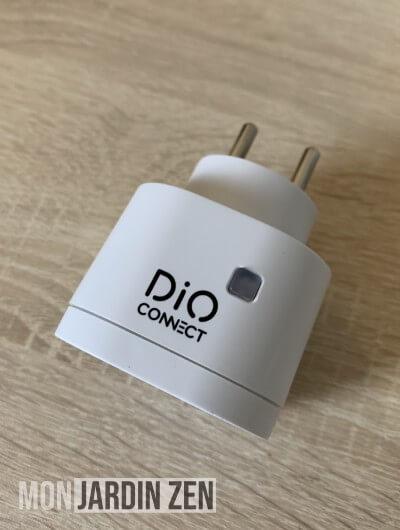 vue de dessus dio connect plug