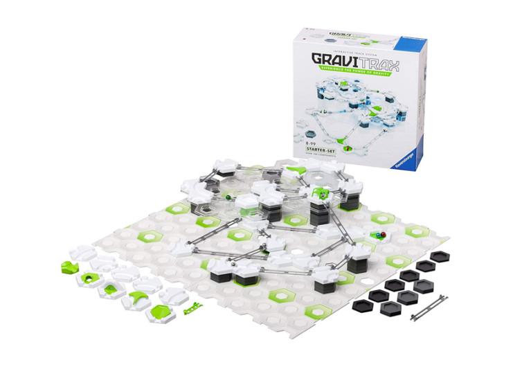 plateau de jeu blanc vert et noir avec la boite