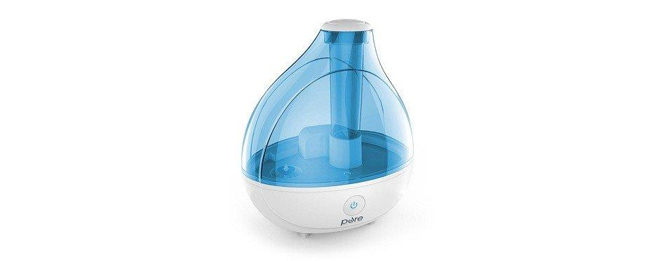 humidificateur bleu