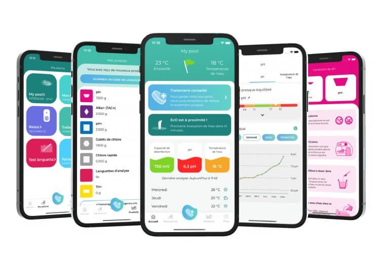 capture écran application iopool