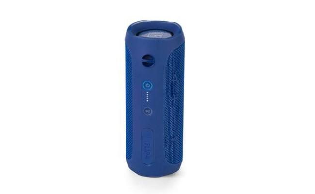 encinte Bluetooth bleue