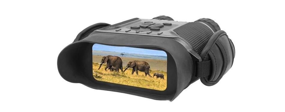 bestguarder nv-900 binoculaire de vision nocturne numérique fonction time-lapse