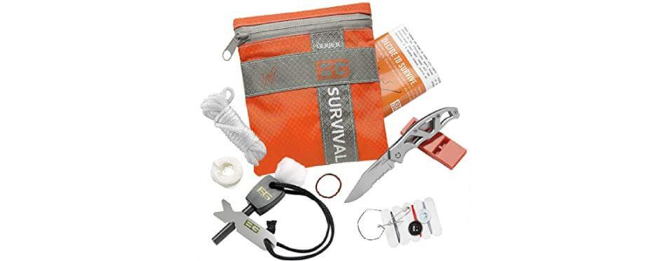 Kit de survie De base orange