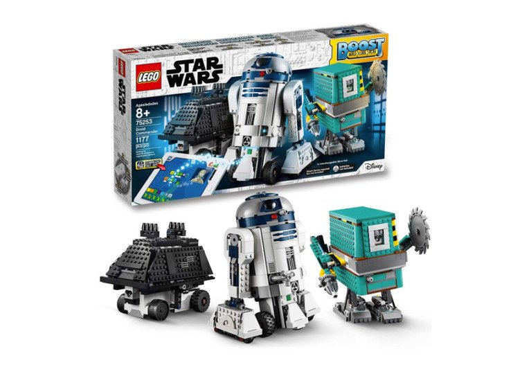 La boite de jeu lego star wars boost