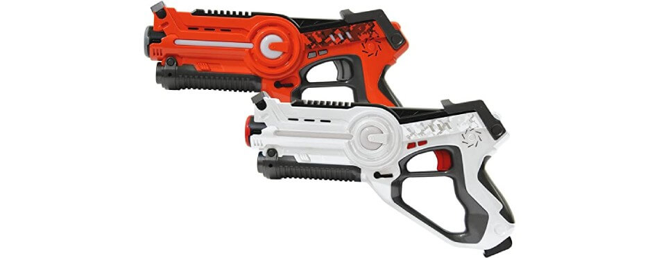 pistolet laser orange