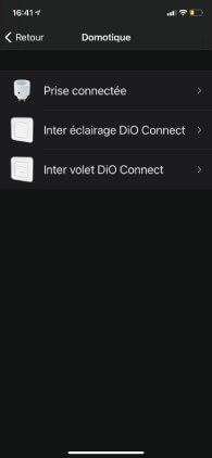 page application smartphone chacon choix sous-produit