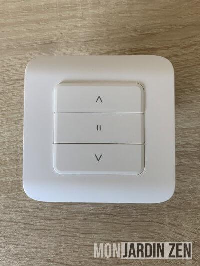 interrupteur blanc rev shutter