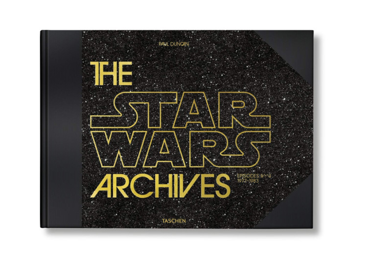 couverture livre star wars archives taschen 1977 1983
