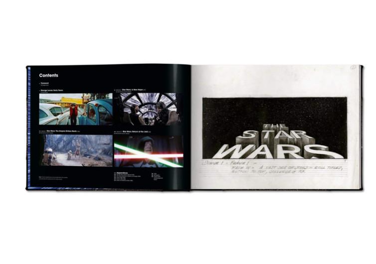 page livre star wars sabre laser