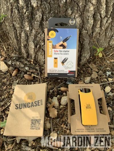 contenu du paquet suncase gear de solar brother