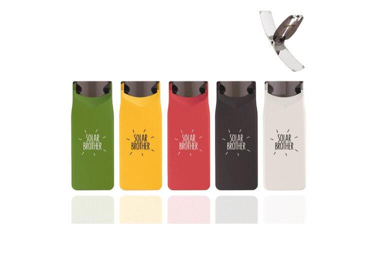 4 couleurs de briquets d'été