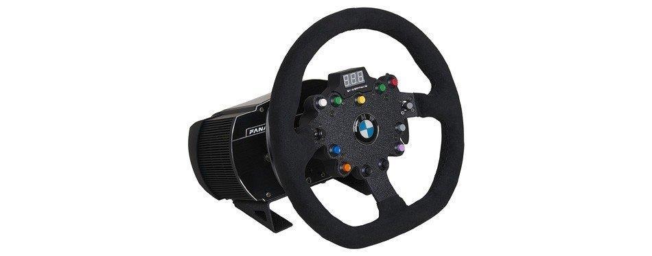 volant de pilotage de jeu vidéo