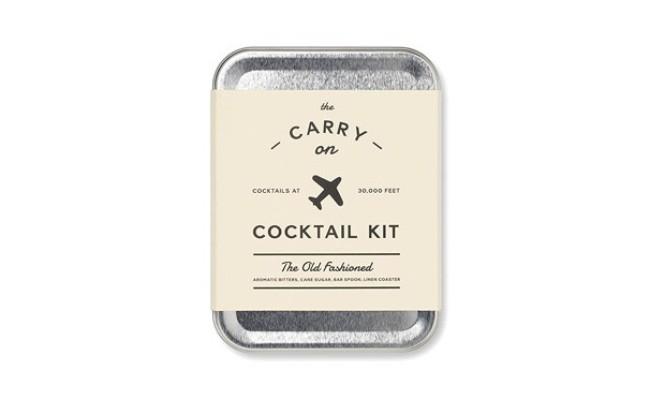 boîte de cocktail de voyage