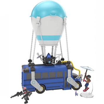 Fortnite Battle Bus bleu