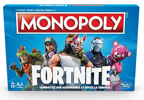 Jeu Monopoly Fortnite