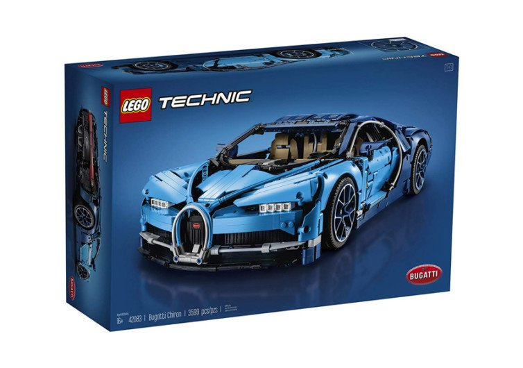 la belle bôite de jeu lego technic voiture bugatti chiron