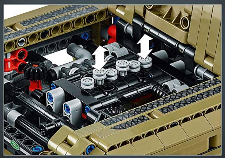 lego moteur de land rover