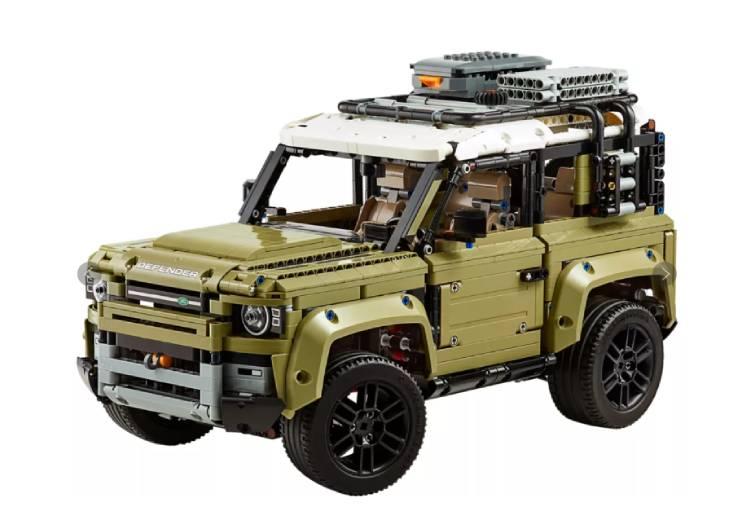 boîte lego land rover defender