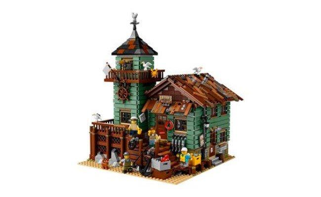 image Lego cabane de pêche pour adultes