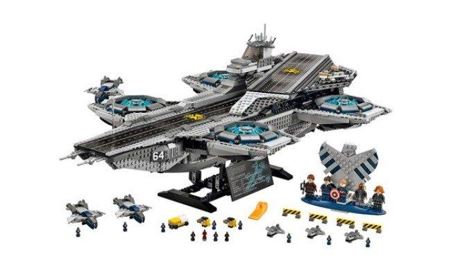Lego Marvel Super Heroes SHIELD Helicarrier