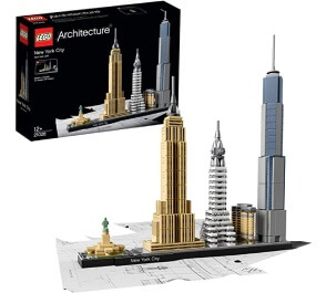 Lego New York City Skyline pour adultes