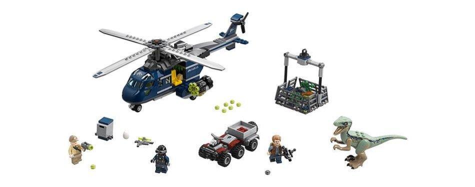 LEGO Jurassic World Poursuite en hélicoptère