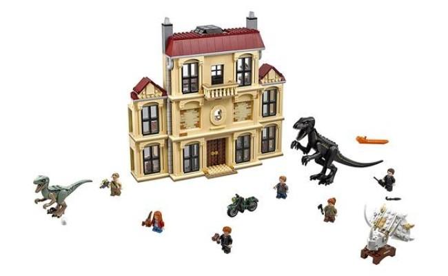 LEGO Jurassic World - La fureur de Indoraptor à Lockwood Estate