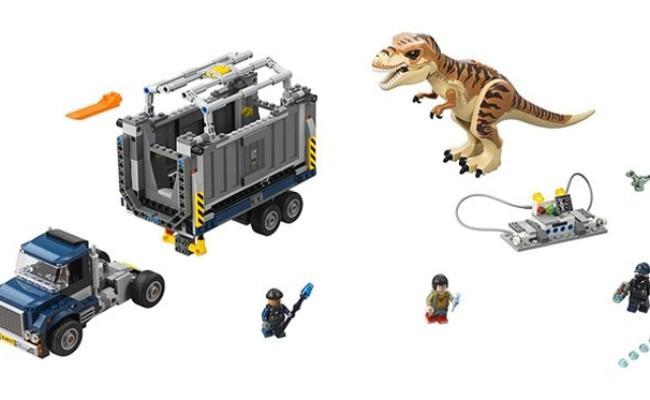 imageLEGO Jurassic World-Le Transport du T. rex