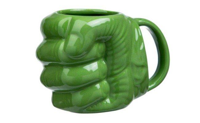 image Mug Poing de hulk