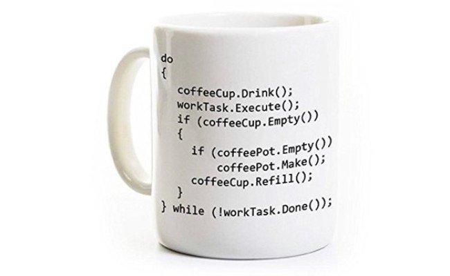 image Mug à café Programmation Code C++