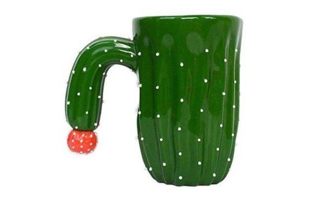 Mug Cactus en folie