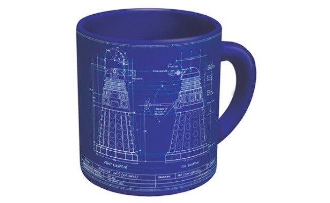 image Le mug à café Docteur Who Genesis