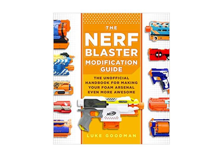 page de couverture du livre pour modifier son pistolet nerf