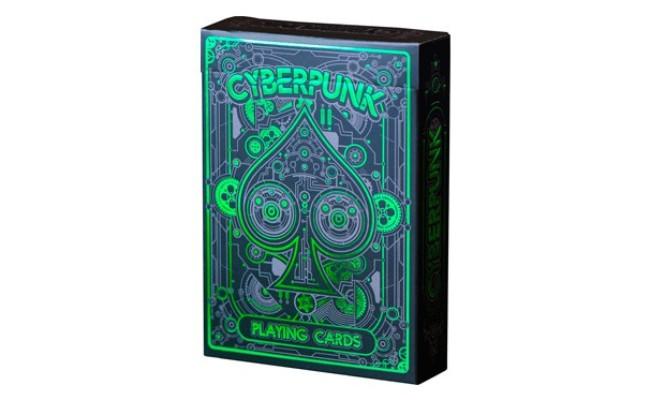 Carte à jouer Cyberpunk