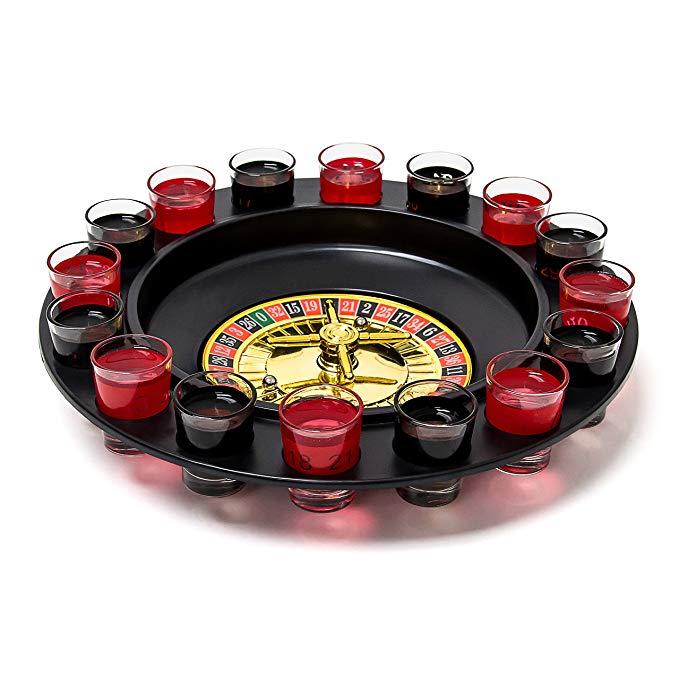 image Jeu de roulette à boire