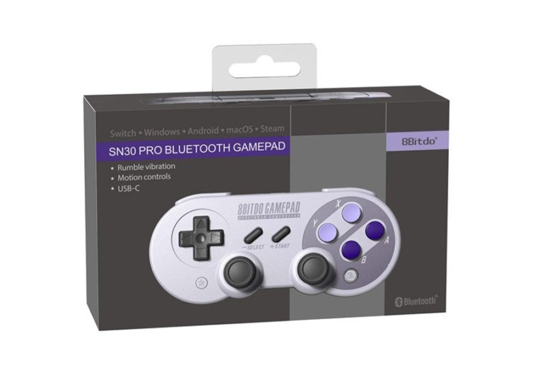 boîte de la manette switch