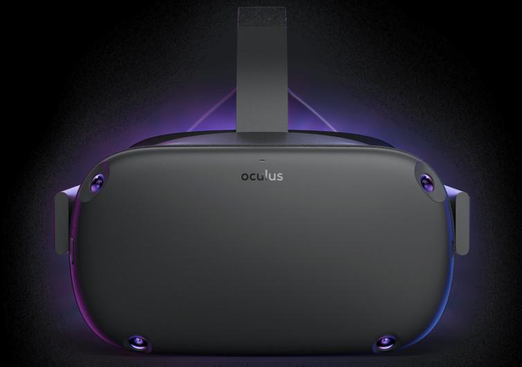 casque de réalité virtuelle occulus quest